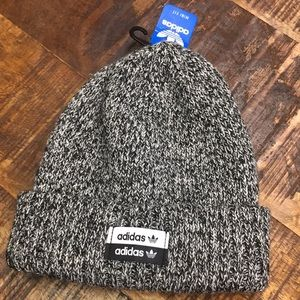 ADIDAS New Mini Fit Knit Beanie Black / White
